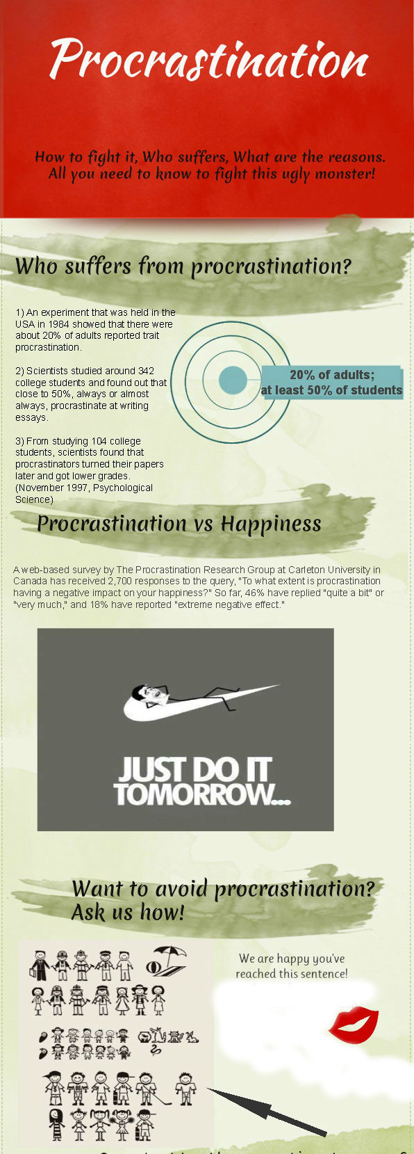 Sample Of Proposal Essay Procrastinationessayinfographics College Vs High School Essay also How To Learn English Essay Procrastination  Students  Model Essay English